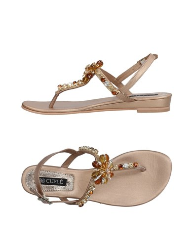 Cuplé Toe Strap Sandals Copper pvkdKG81bn
