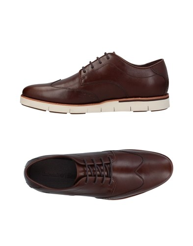 Timberland Lace Up Shoes Dark Brown BRkzdskb