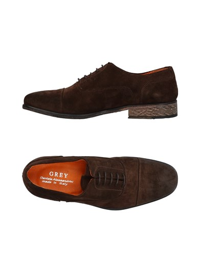 Grey Brown Dark Lace Daniele Up Alessandrini Shoes 5YvvqOw