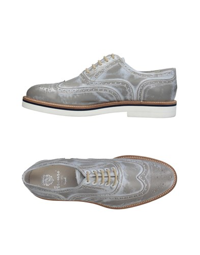 ARCURI Lace Up Shoes Light Grey hQ0N5Gxp