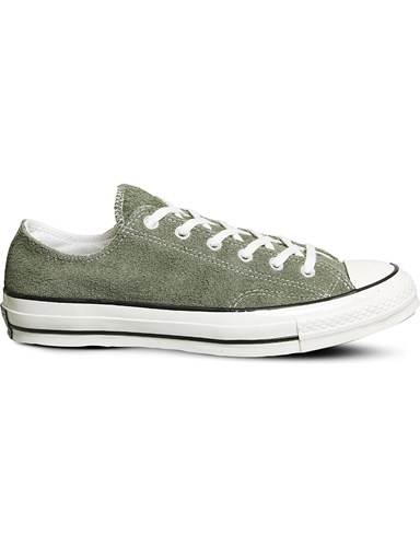Converse All Star Ox 70'S Suede Low Top Trainers Medium Olive 39XuQlrh3C