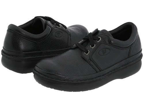 Propet Village Walker Medicare Hcpcs Code A5500 Diabetic Shoe Black Grain Men's Lace Up Casual Shoes AHnka5z0jH