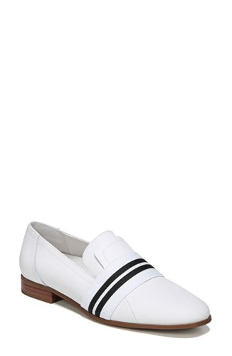 Franco Sarto By Women's Odyssey Loafer White Leather Xp9cc