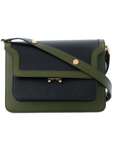 Marni Marni Shoulder Trunk Marni Shoulder Green Bag Green Trunk Bag Trunk Shoulder 4UgqxCCR