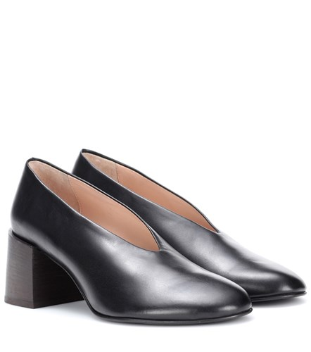 Acne Studios Sully Leather Pumps Black QkldvUe