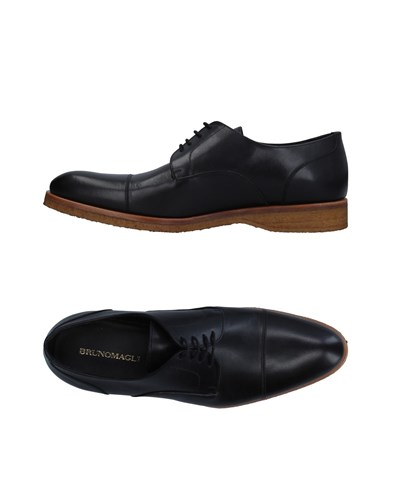Bruno Magli Lace Up Shoes Black 4FZJbQp8wB