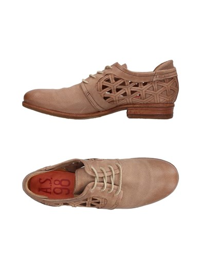A.S. 98 Lace Up Shoes Camel omrVfwKUT
