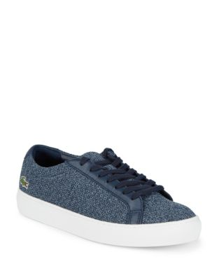 Lacoste Logo Low Top Sneakers Navy JvDrgX