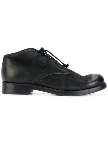 The Last Conspiracy Battista Derby Shoes Leather Wood Black uPmxI