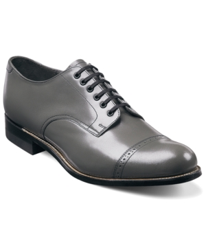 Stacy Adams Madison Cap Toe Oxfords Men's Shoes Grey 7btpZ6P