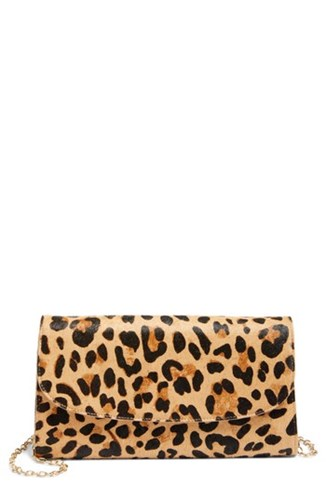 Calf Genuine Hair Clutch Leopard Nordstrom Print nYOUFw5nxq