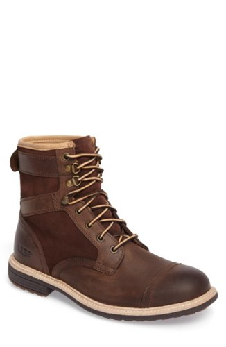 UGG Uggr Men's Magnusson Cap Toe Boot Grizzly eT33Sg