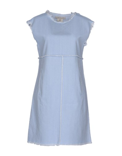 Marc by Marc Jacobs Short Dresses Blue bHEm5pYuz