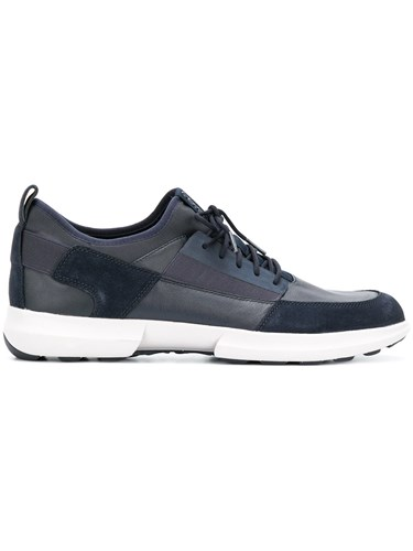 Geox Lace Up Sneakers Blue HGFbbeb