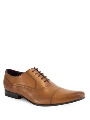 Ted Baker Rogrr Leather Oxfords Tan GwoegPkA