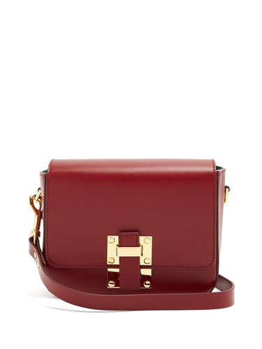 Sophie Hulme Small Quick Cross Body Bag Red IG94Bk6o