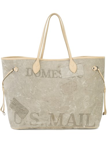Postal Readymade Brown Bag Bag Tote AwdwZfRUqx
