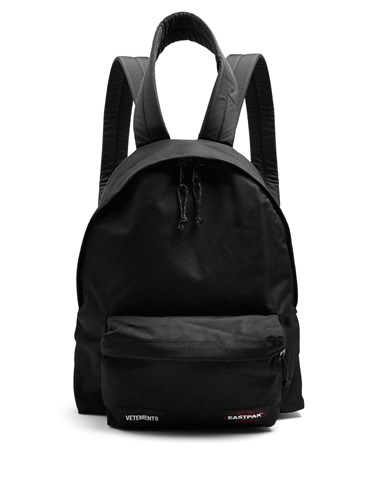 X Eastpack Oversized Canvas Backpack Black
