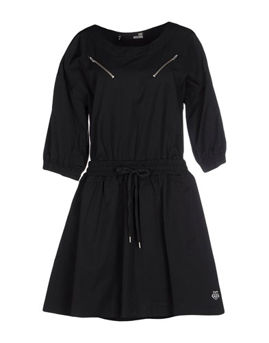 Love Moschino Short Dresses Black Lgidsgh8