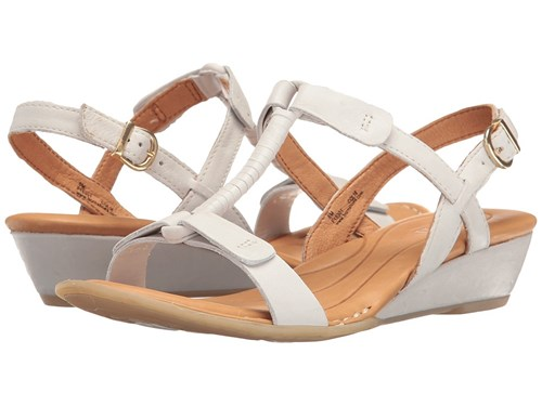 Børn Douala White Full Grain Dress Sandals ehfmoPe