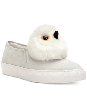 Katy Perry Clarissa Novelty Owl Sneakers Women's Shoes White RieGRn