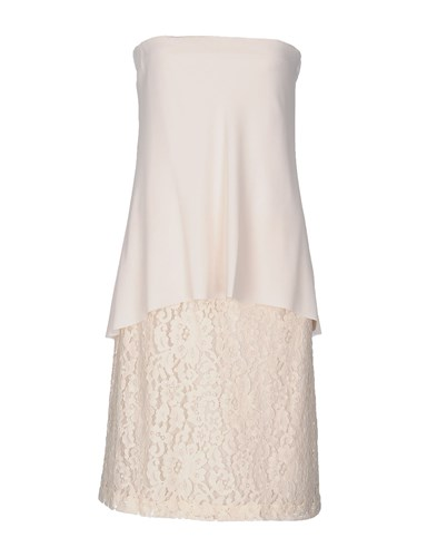 ..,Merci Short Dresses Ivory