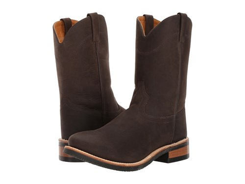 Old West Boots Mb2061 Distress Brown Men's Pull On QK38SYOC