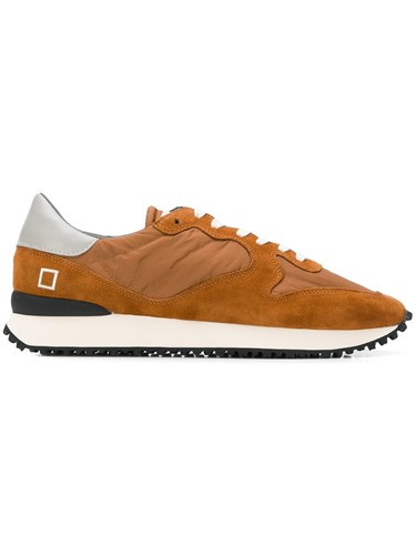D.A.T.E. Lace Up Sneakers Brown