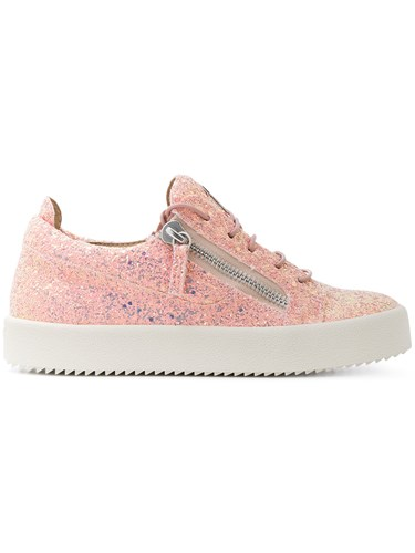 Giuseppe Zanotti Design Nicki Low Top Sneakers Pink And Purple UQYOX03Ka