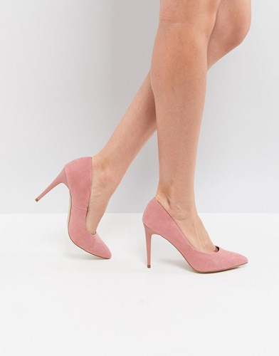 New Look Pointed Court Shoe Pink zYXXs