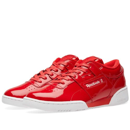 Reebok X Opening Ceremony Workout Lo Clean Red Ppdlu