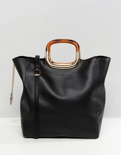 Faith Unstructured Tote Bag In Black a6SUX