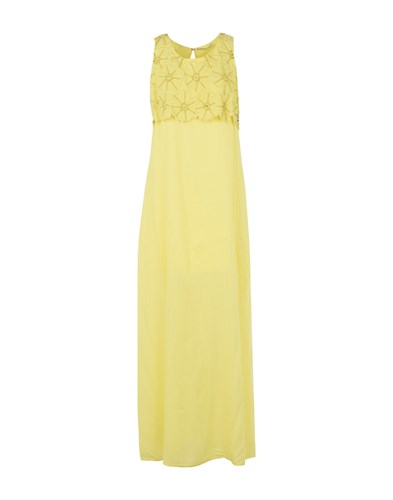 Yellow Lu Dresses Milano Lucky Long gYR0yw