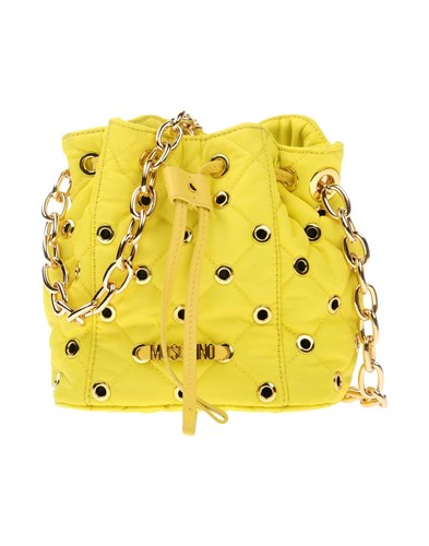 Moschino Handbags Yellow qER2lO