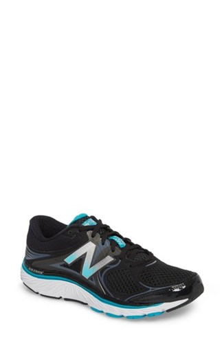 New Balance Women's 940V3 Running Shoe Black Blue 723zU7