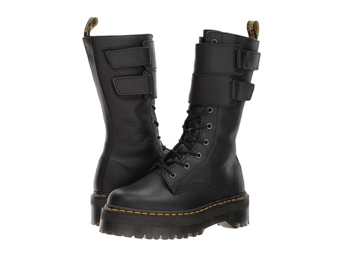 Dr. Martens Jagger 10 Eye Boot Black Aunt Sally Women's Boots yPBIa4Roc8