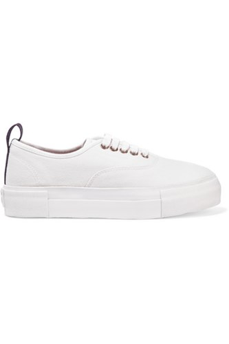 Eytys Mother Cotton Canvas Sneakers White Usd 7RYzpp