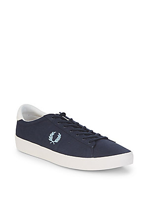 Fred Perry Spencer Low Top Sneakers Navy lkf3Cq5lH
