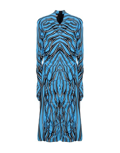 Marni Knee Length Dresses Azure OHStUi3x