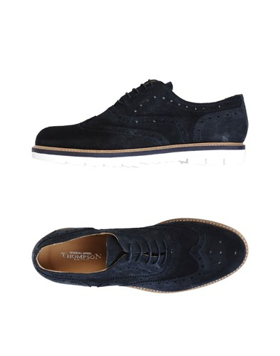 Thompson Lace Up Shoes Dark Blue xqaCs