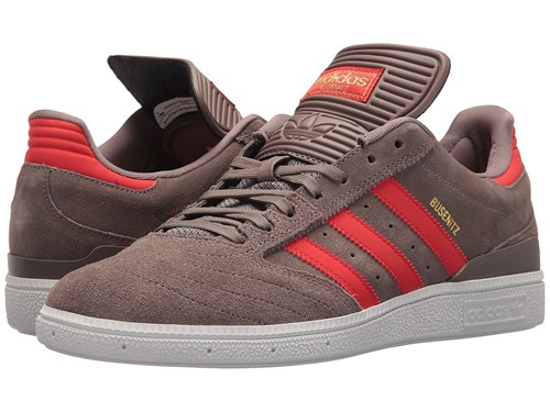 adidas Skateboarding Busenitz Pro Tech Earth Gold Metallic Suede Skate Shoes Pink vkpmjuMY3