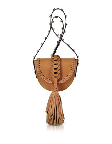 RED Valentino Handbags Natural Leather Crossbody Bag W Oversized Tassel 9vFZMTgqb