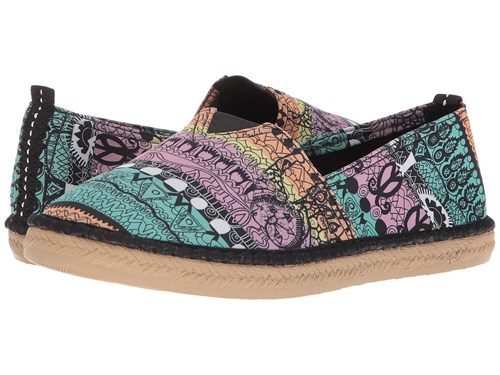 Sakroots Eton Sherbet One World Slip On Shoes Multi RFHaasd