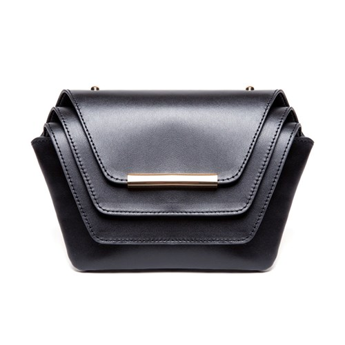 Ellia Wang Layer Clutch Black ihvnNE1Rz