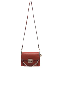 Givenchy Small Leather Gv3 In Brown KV2wMAydo