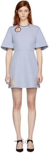Roksanda Ilincic Blue Layken Dress NDhfvpEE6
