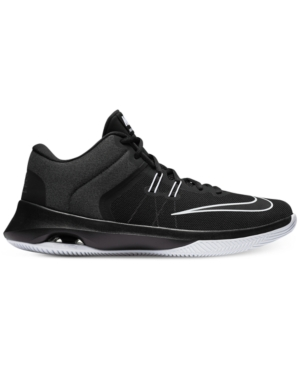 Air Versitile Nike Sneakers From Basketball Line White Men's Finish Black Ii REqWxn5q
