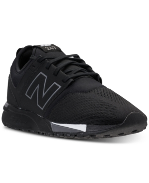 New Balance Men's 247 Casual Sneakers From Finish Line Black Grey rQBRohdA