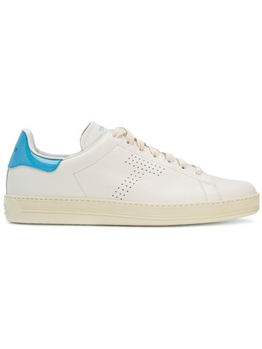 Tom Ford Contrast Detail Sneakers White mbisrRUY
