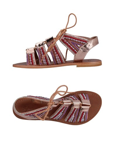 PERCENT Sandals Copper 2OVNy6ei